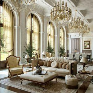 اصول طراحی داخلی کلاسیک