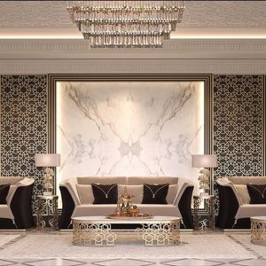نمای داخلی با سنگ ساختمانی